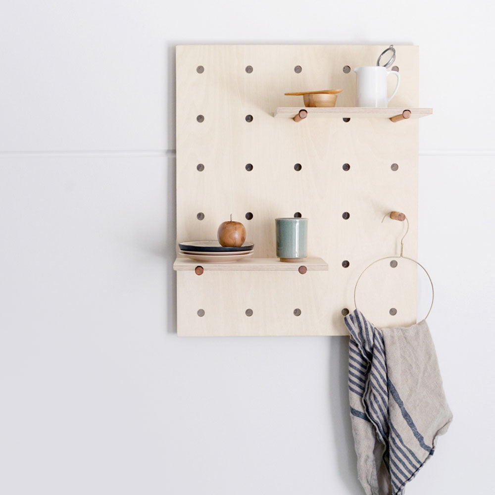 Peggy Peg Board Wall Mounted Storage Made in Melbourne