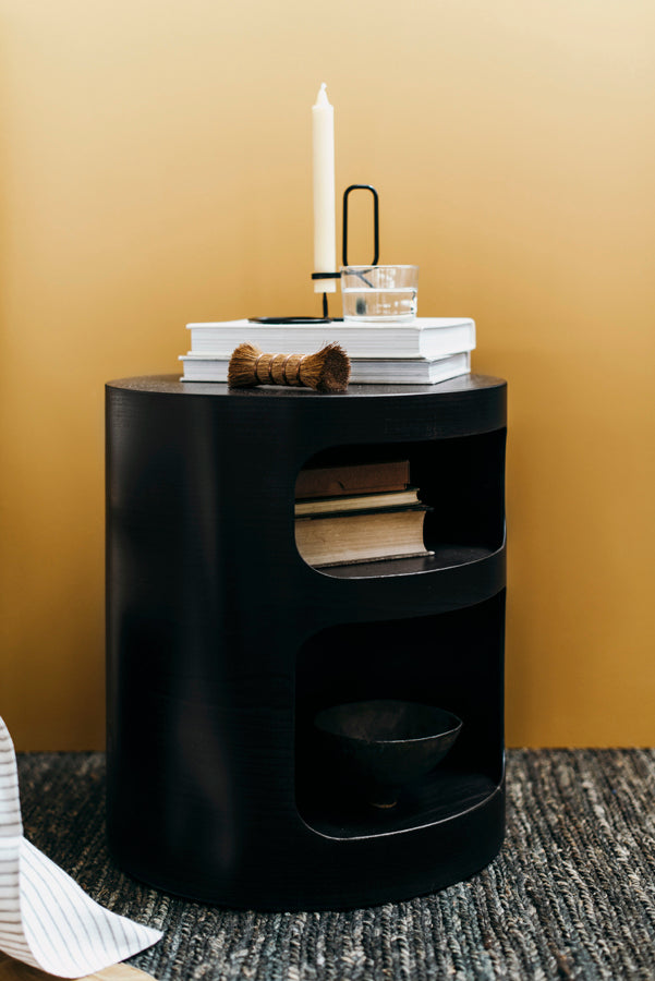 Oh Side Table Black