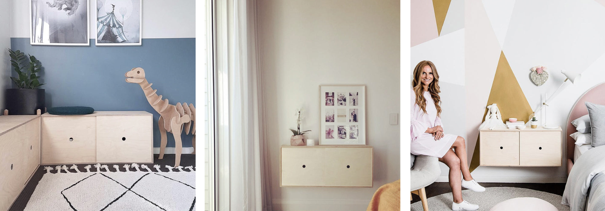 Plyroom Big Nest Storage Cabinet Modern Mid-Century Storage Made in Melbourne