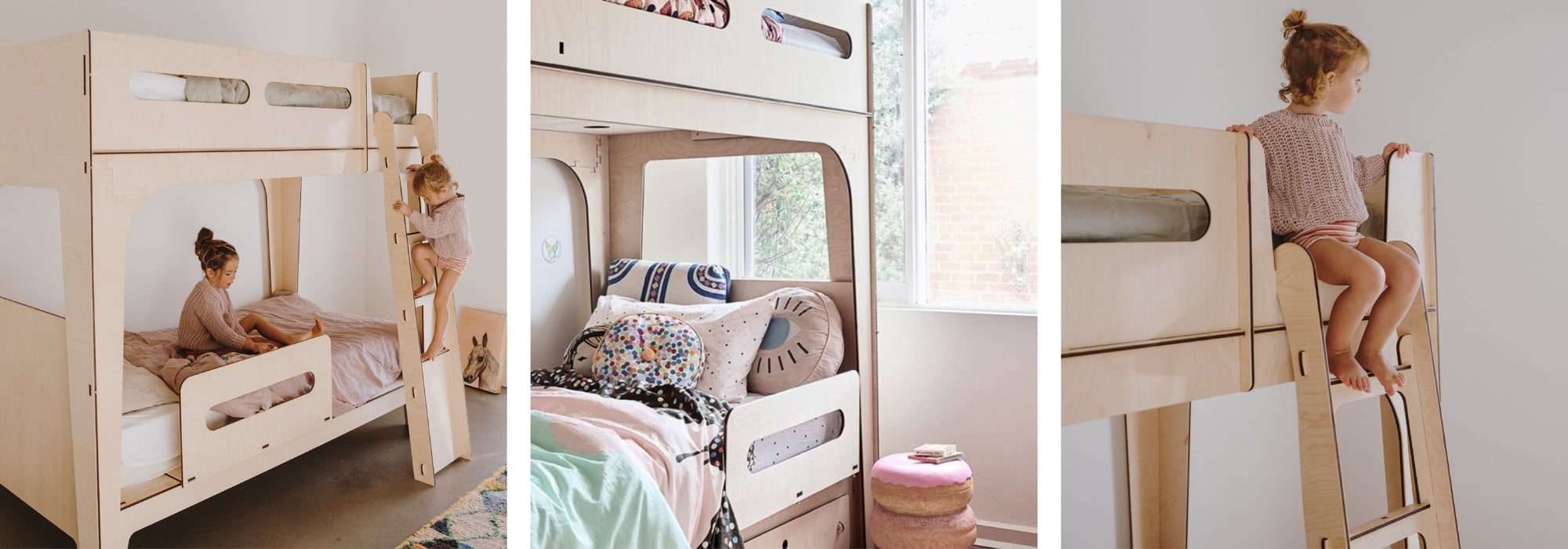 Modern children's furniture and loft beds in Melbourne