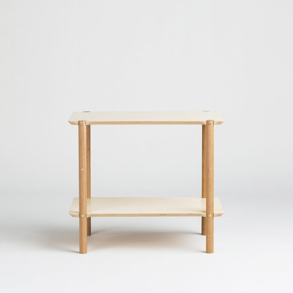 Shibui Side Table is perfect for a minimal bedroom design