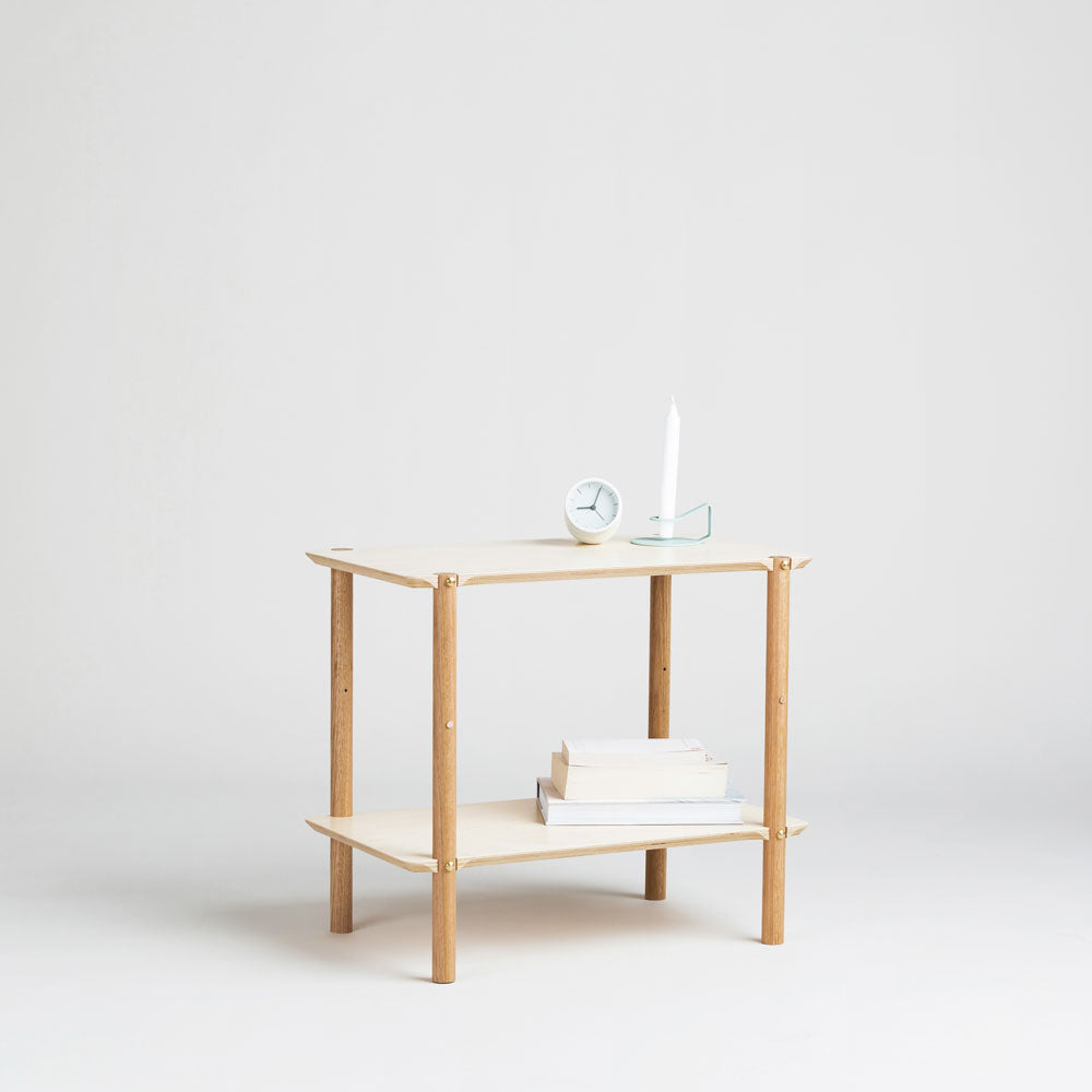 Shibui Small Shelf Modern Bedside Furniture by Plyroom