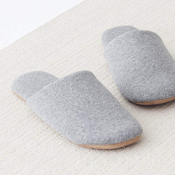 Muji Felt Slippers for Minimalist Japanese Inspired Houses