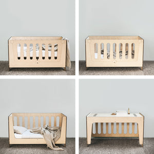 Ava Lifestages Cot - cot junior bed and desk