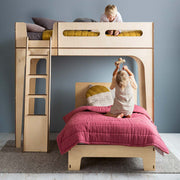 dream cloud modern kids loft bed