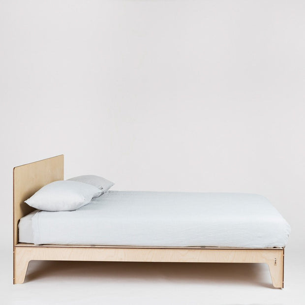 flat out modern designer queen bed