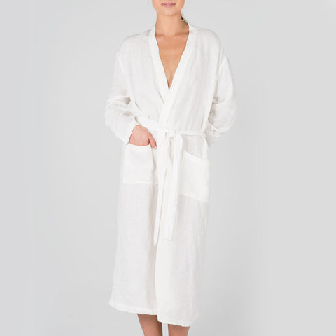 Eadie lifestyle linen robes plyroom bedroom boho