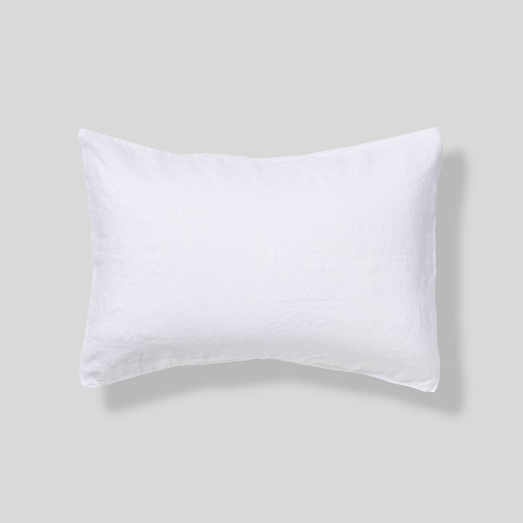 White Linen Pillowcase Inbed Store