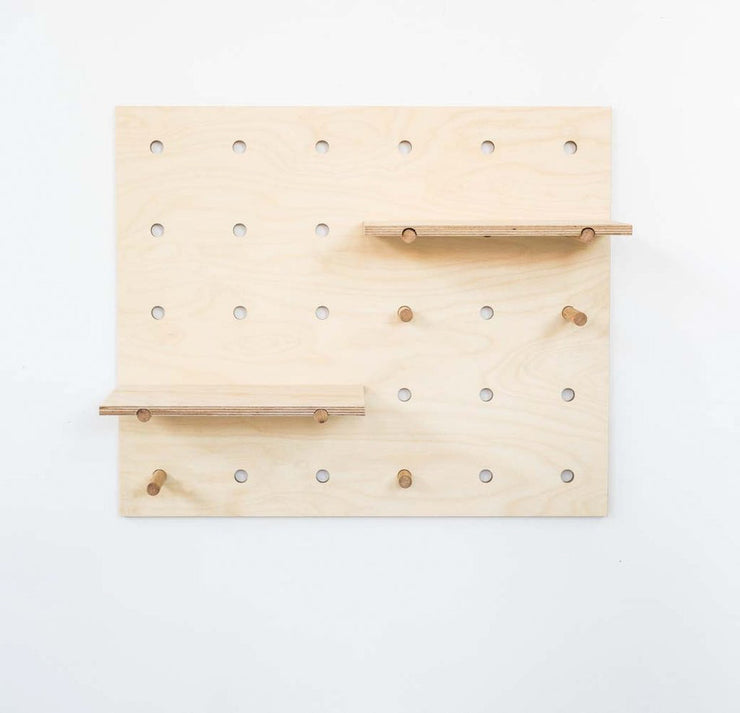 designed and made in melbourne, this the peggy pegboard is perfect more minimalism, modern interiors