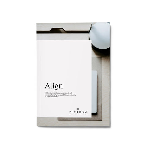 FREE Align Zine for a Simpler Life