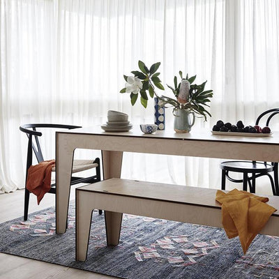 Tavolone Dining Table with Panca Corta Bench Seat