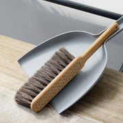 dustpan & brush set grey