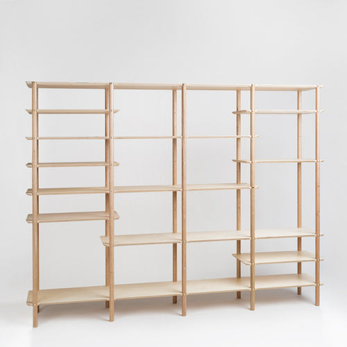 Plyroom Shibui Shelf Room Divider angle