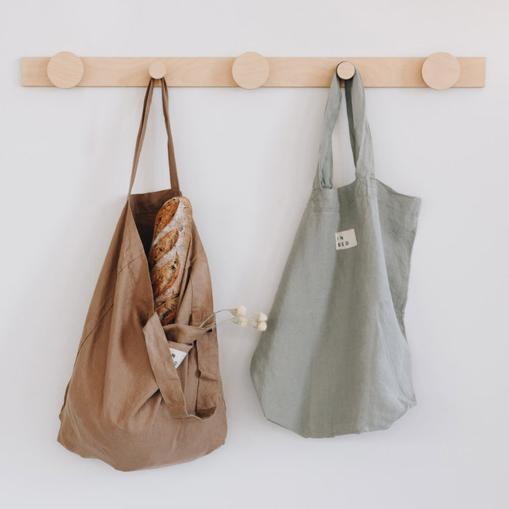 hang on piccolo coat rack and in bed store linen