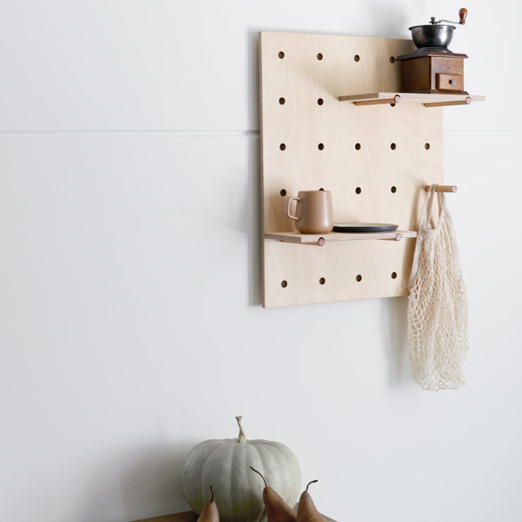 peggy pegboard - small marking on front
