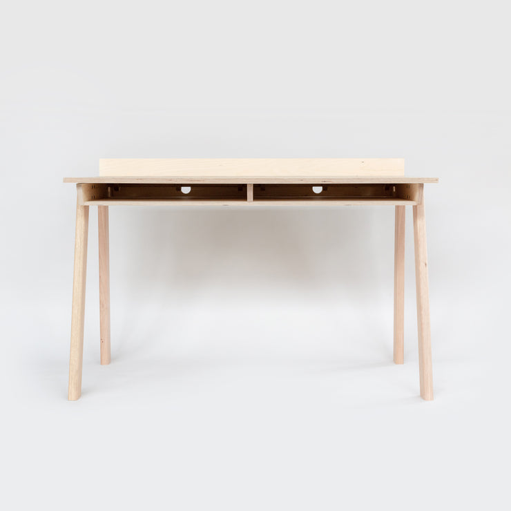 minimalist storage desk and modern furniture made in melbourne by plyroom