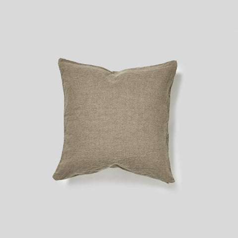 Linen Cushion in Natural - Square