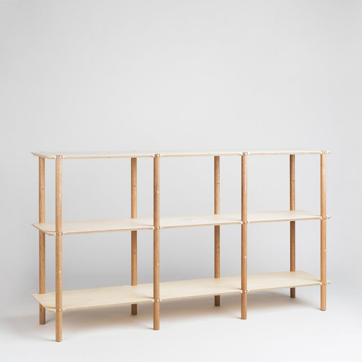 modern scandinavian shelf