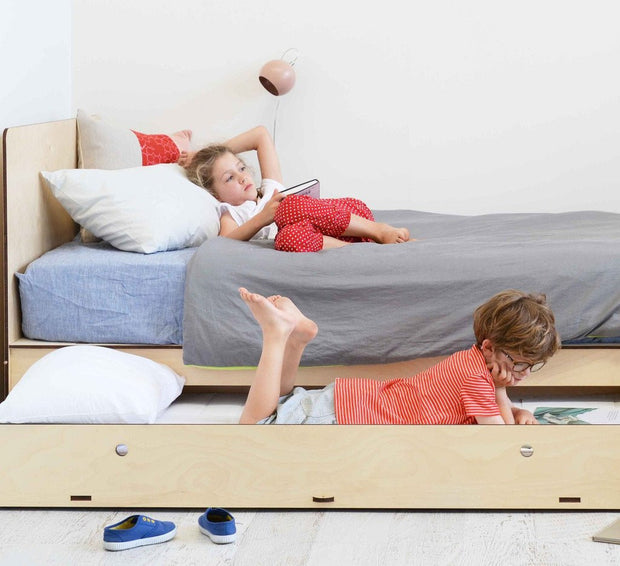 plyroom trundle drawer for storage or sleepovers