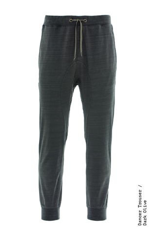 DANCER TROUSER / BLUE-BLACK