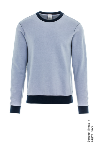 Dancer contrast sweatshirt navy