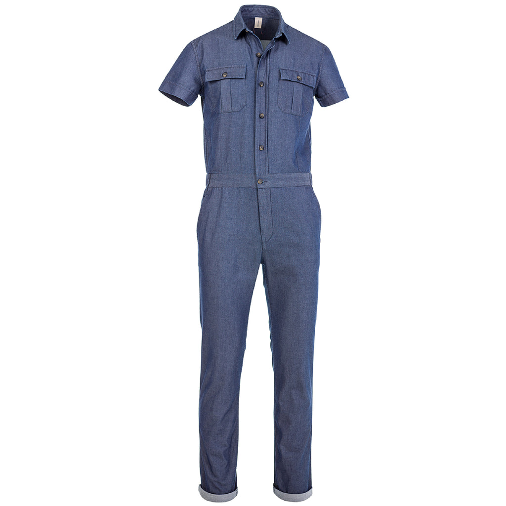 ENGINEER SS OVERALL/1/CHAMBRAY