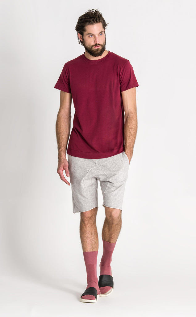 DRIVER T SHIRT/1/ROSEWOOD