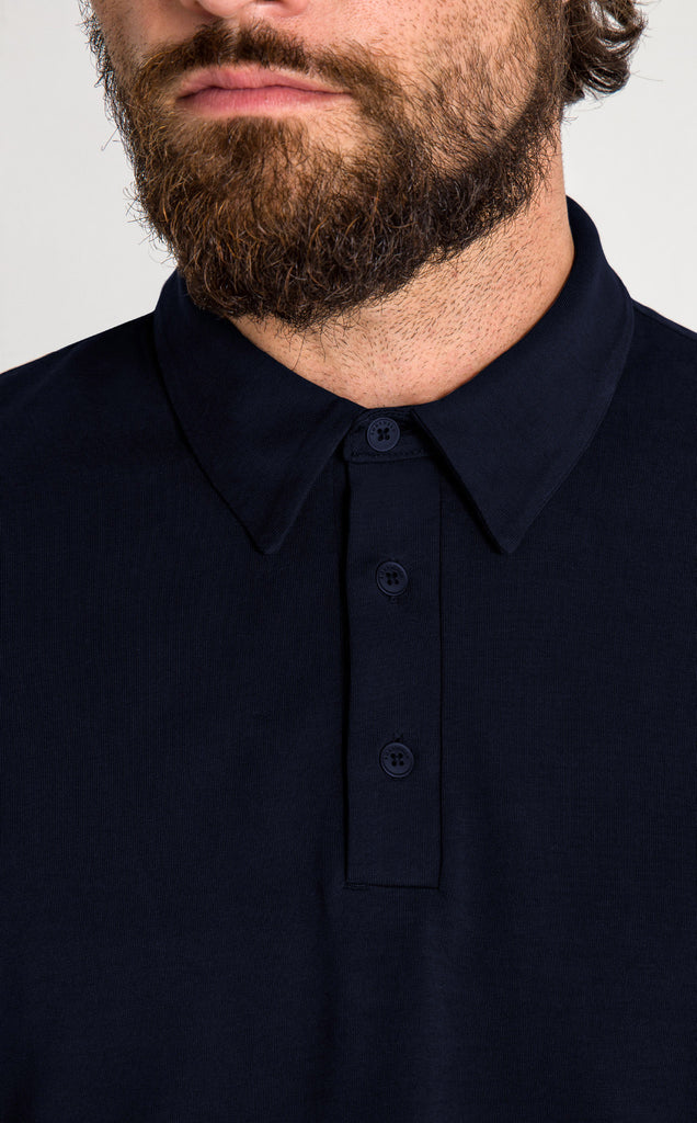 DRIVER POLO/1/BLUE BLACK