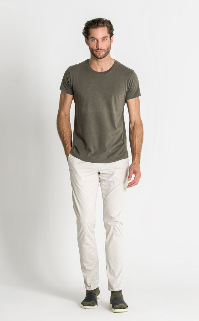 DRIVER T SHIRT/1/OLIVE