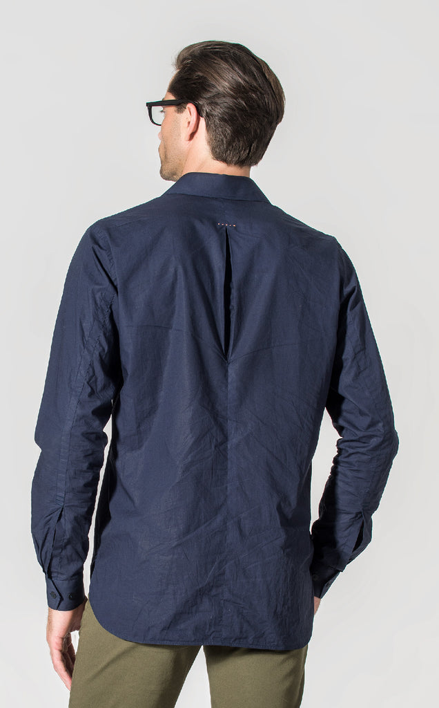 OFFICER SHIRT/1/NAVY
