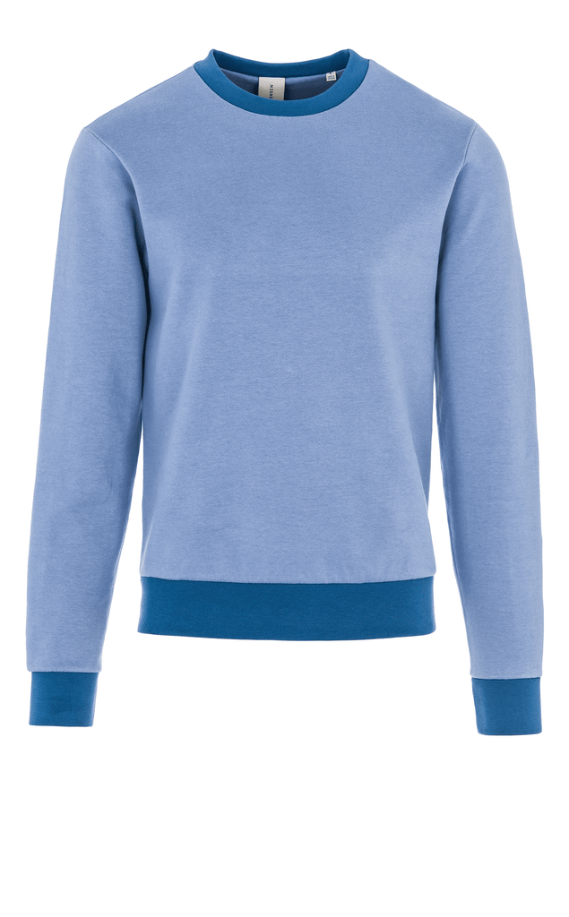 DANCER CONTRAST SWEAT/1/CHAMBRAY