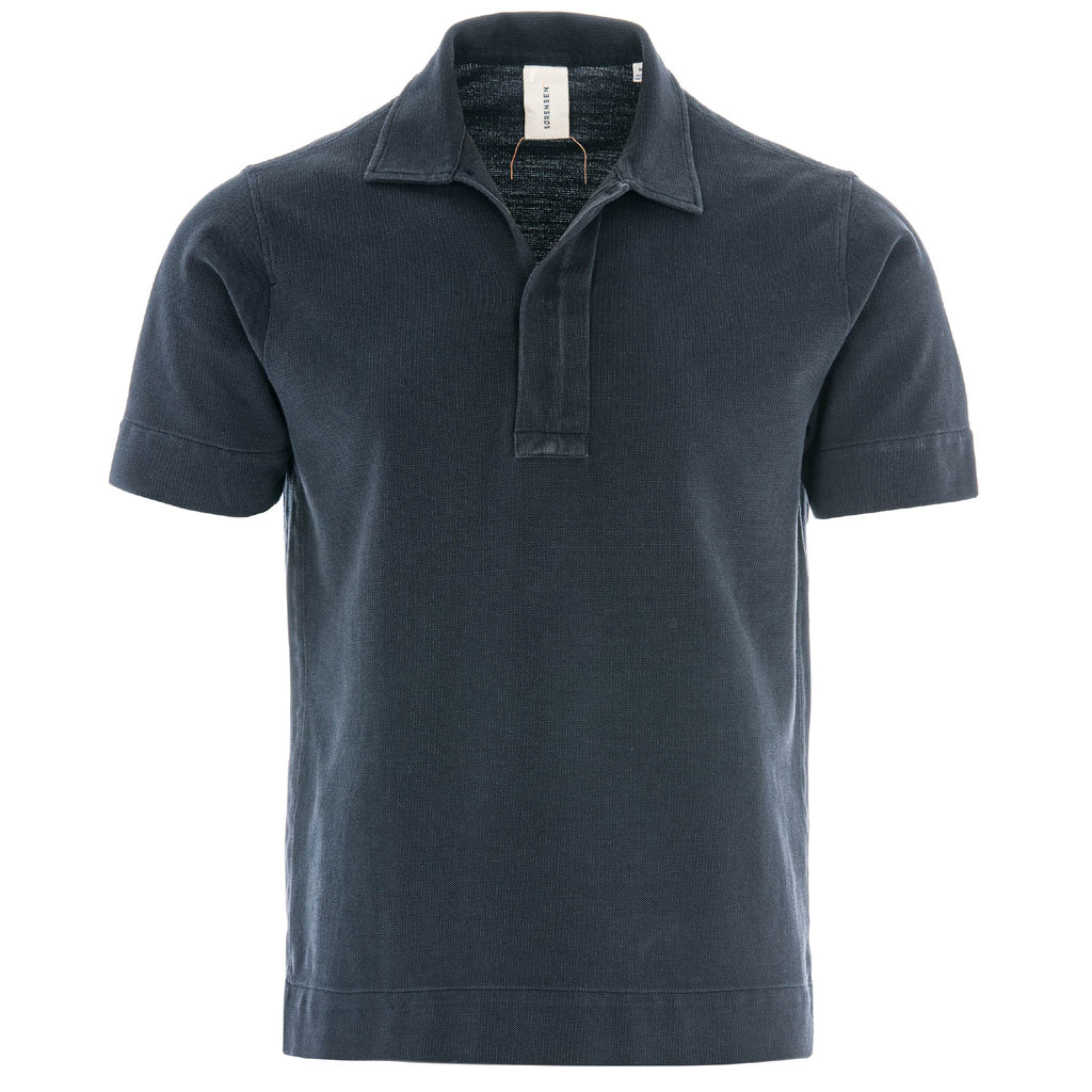 BUTCHER POLO/1/BLUE BLACK
