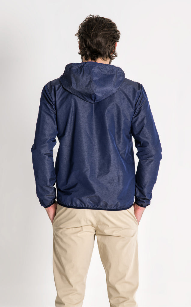 SEAFARER JACKET/8/LIGHT NAVY-ECRU