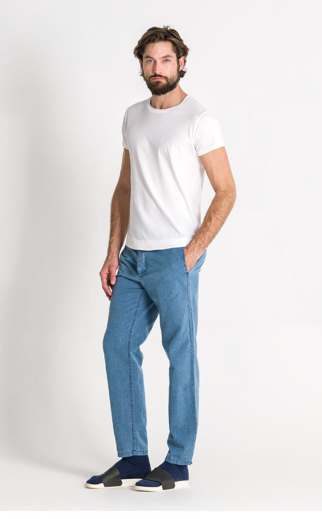 PAINTER TROUSER/6/BLEACHED