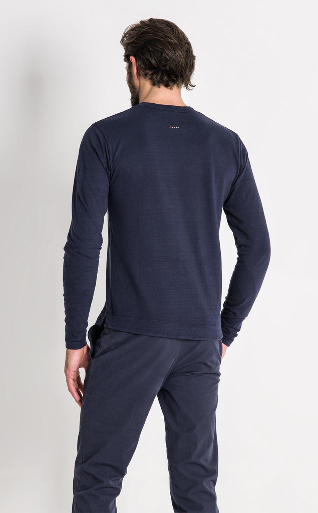 ENGINEER LS T SHIRT/2/NAVY