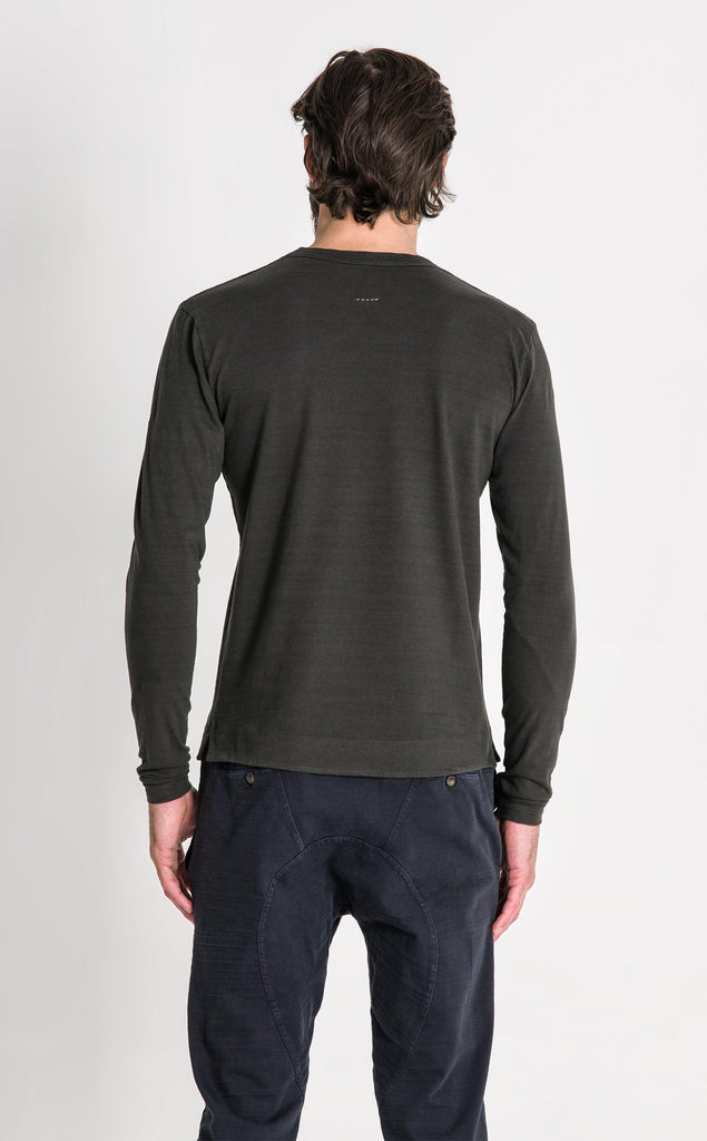ENGINEER LS T SHIRT/2/DEEP OLIVE