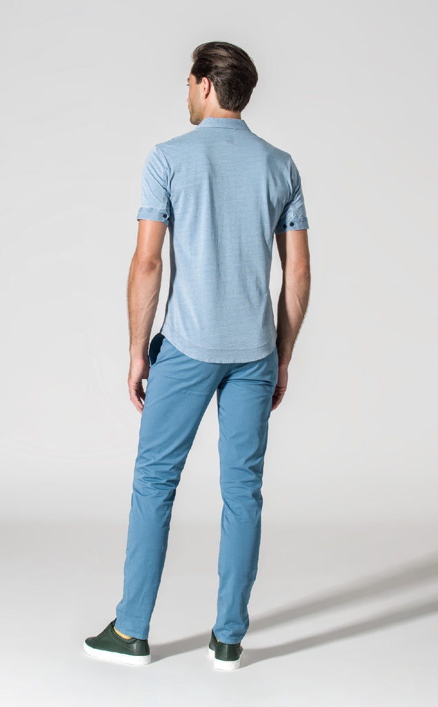 DRIVER CHINO/3/BLUE GREY