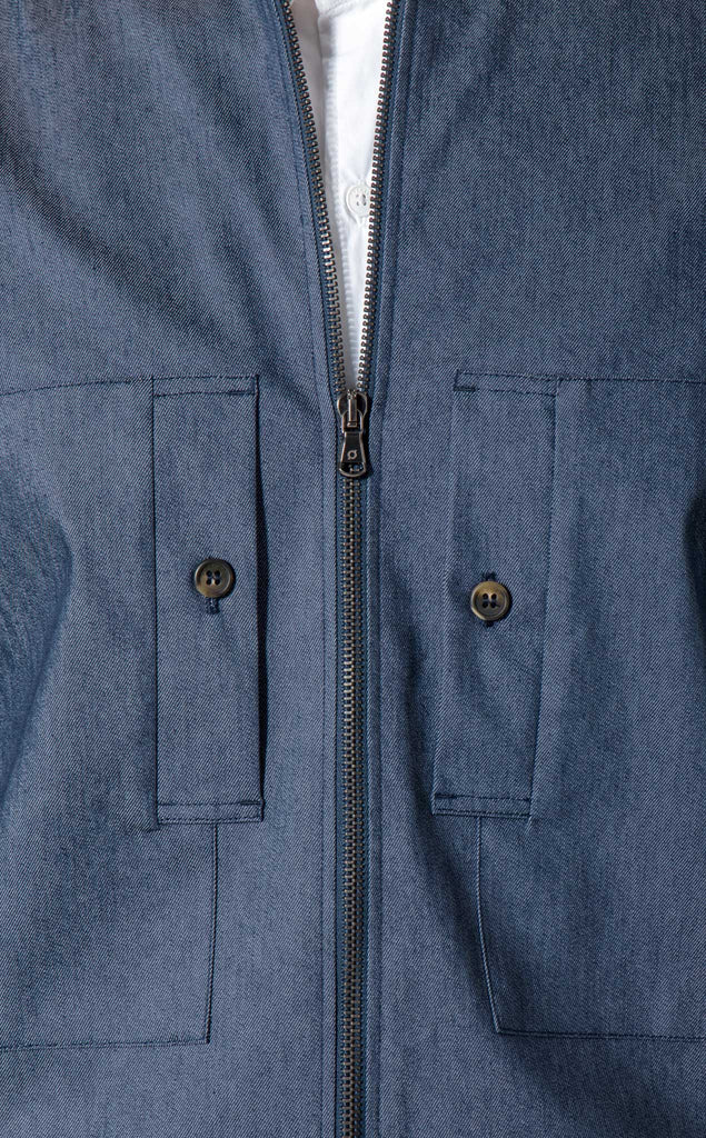 DRIVER PIT JACKET/4/CHAMBRAY