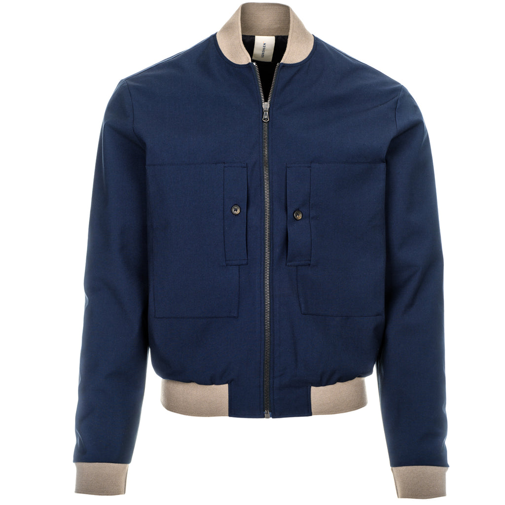 DRIVER PIT JACKET/5/NAVY-TAUPE