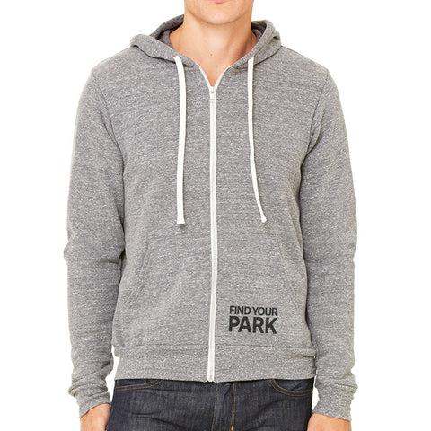 Find Your Park Zip Up Hoodie