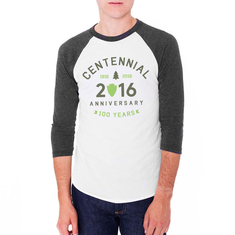 National Park Centennial 2016 Raglan T-Shirt | Find Your Park | Official Store for the National Park Service