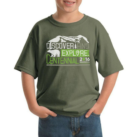 Discover Find Explore Kids T-Shirt