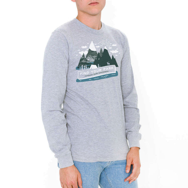 Hitrecord Mountain Long Sleeve T-Shirt