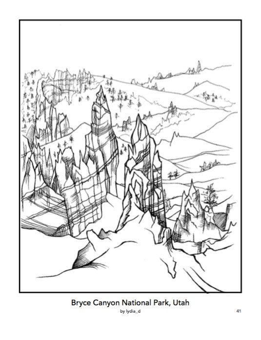 Color Your Park Coloring Book – National Park Foundation