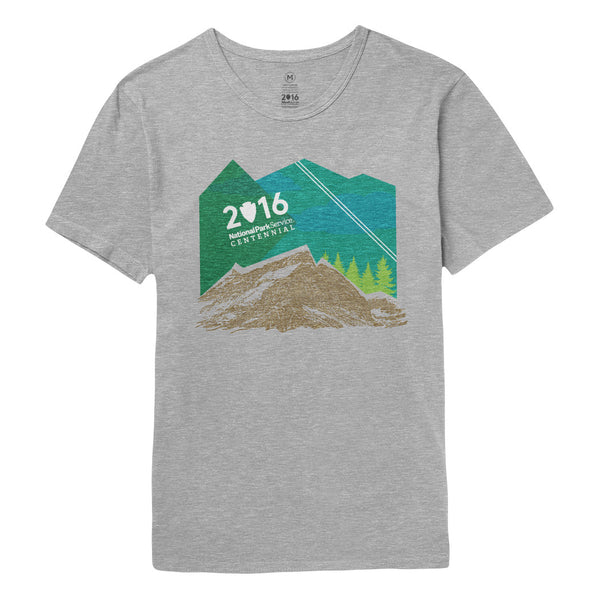 National Park Centennial Mountain T-Shirt | Find Your Park | Official Store for the National Park Service