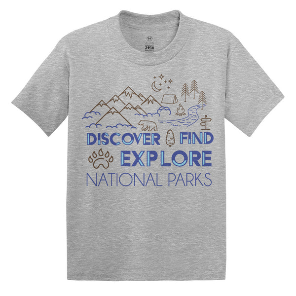 NPF Discover Find Explore Kids T-Shirt