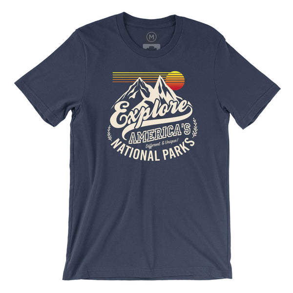 National Parks Explorer Tee