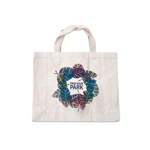 Find Your Park Leaves Tote
