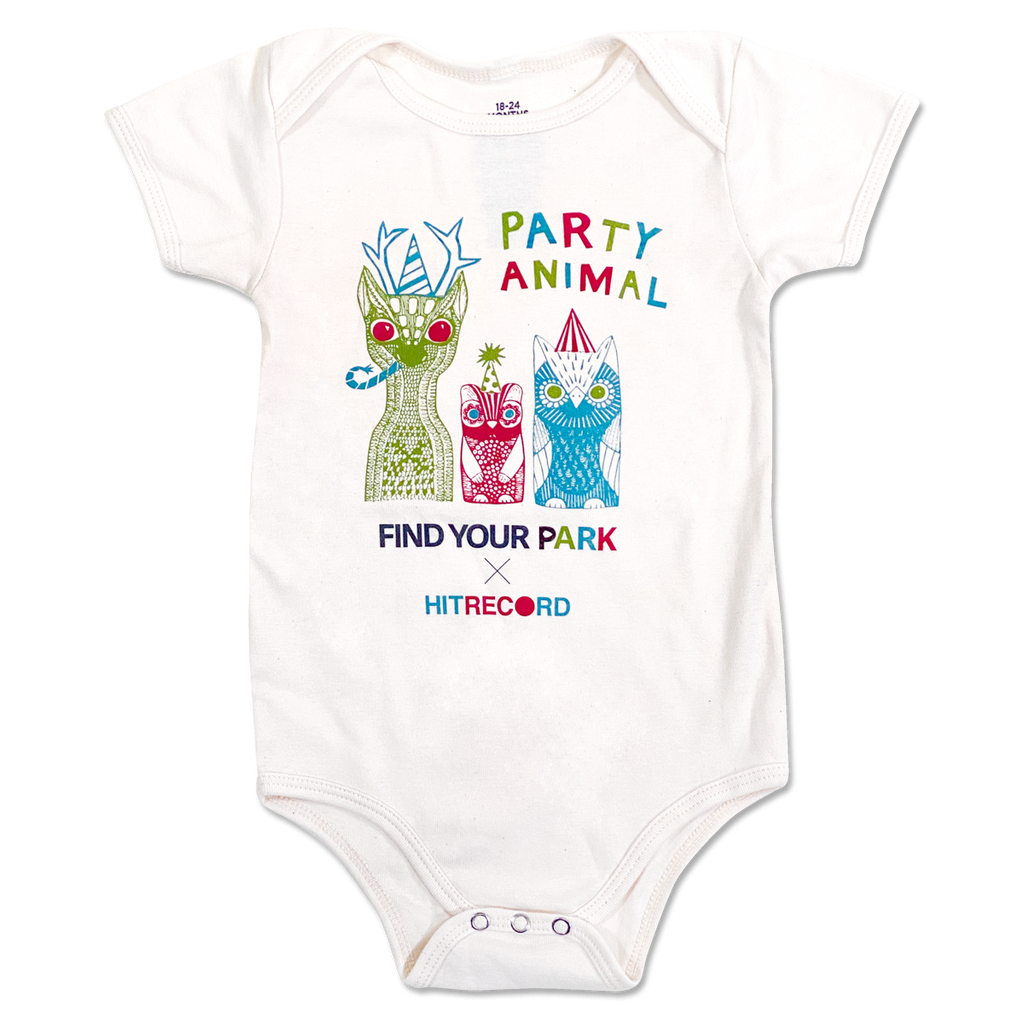 Find Your Park Party Animal Onesie