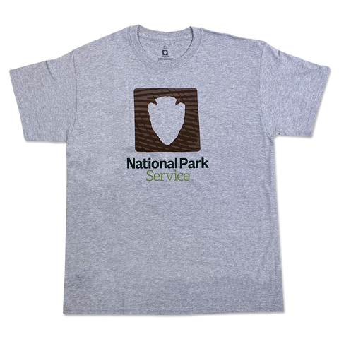 National Park Service Logo Tee - Grey